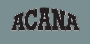 Logo-ul companiei producătoare de hrană uscată pentru câini ACANA
